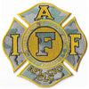 International Association of Firefighters Camo Fire Patch