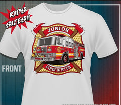 Junior Firefighter Tee Shirts