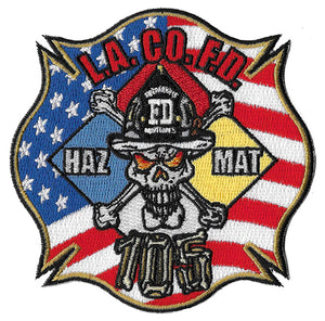 LA County Station 105 Haz Mat Maltese Fire Patch