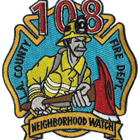 LA County Station 108 Neighborhood Watch Fire Patch