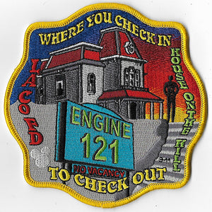 LA County Station 121 Where You Check In Fire Patch