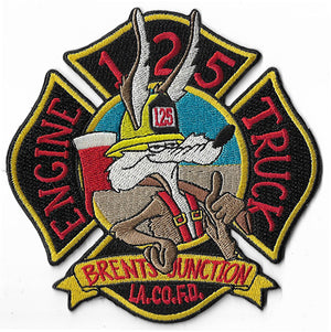LA County Station 125 Brents Junction Fire Patch