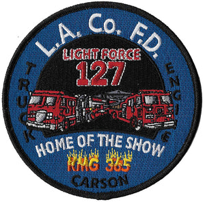 LA County Station 127 KMG 365 Home of the Show Fire Patch