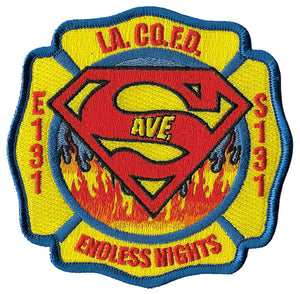 LA County Station 131 Endless Nights Superman Fire  Patch