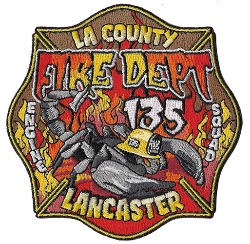 LA County Station 135 Lancaster Fire Patch