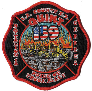 LA County Station 159 Pride of Truck Alley Fire Patch