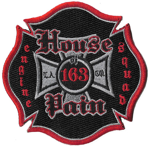 "LA County Station 163  ""House of Pain"" Fire Patch"