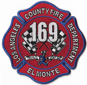 LA County Station 169 El Monte Fire Patch