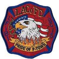 LA County Station 181 Eagle Pride of P-Town Fire Patch