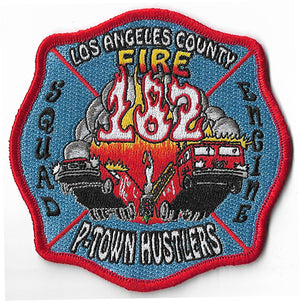 LA County Station 182 P-Town Hustlers Fire Patch