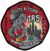 LA County Station 185 South P-Town Happiest Place on Earth Fire Patch