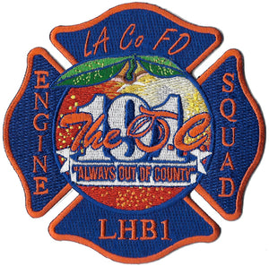 LA County Station 191 New Design Fire Patch