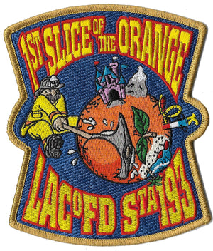 LA County Station 193 1st Slice of Orange Fire Patch