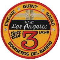 LA County Station 3 East Los Angeles Fire Patch