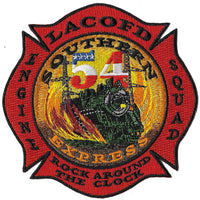 LA County Station 54 Southern Express Train Fire Patch
