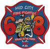 LAFD Station 68 Patch