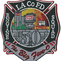 LA County Station 50 The Big Five-O Fire Patch
