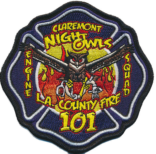 LA County Station 101 Maltese Patch