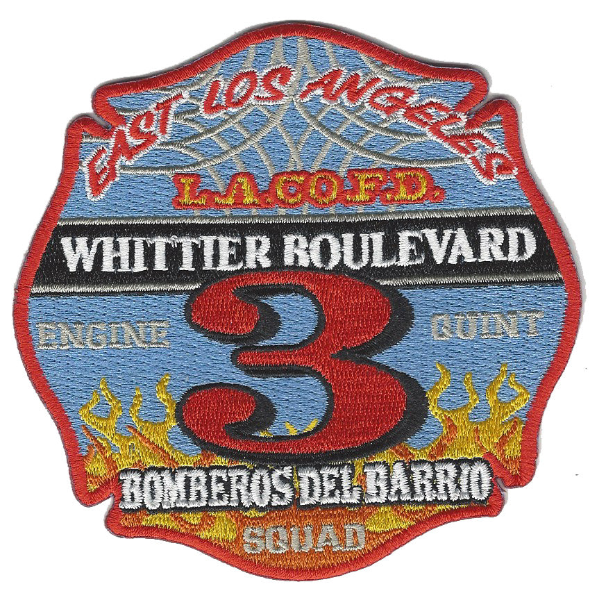 LA County Station 3 Patch