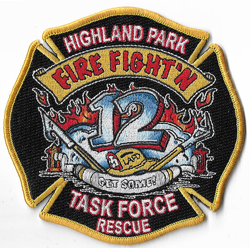 LAFD Station 12 Patch