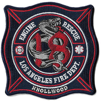 "LAFD  Station 18 ""Knollwood"" Patch"