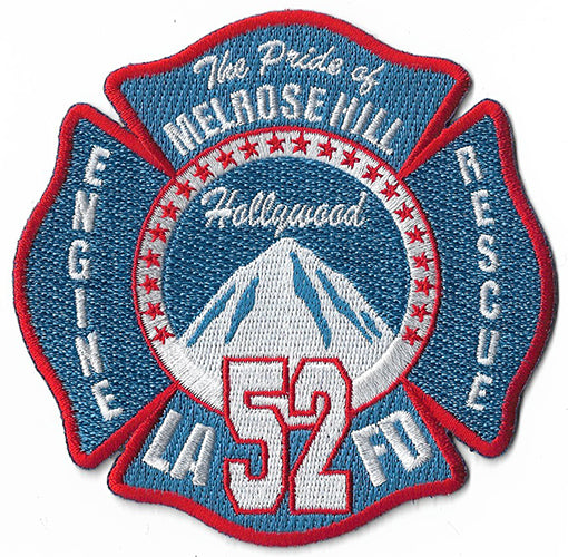 LAFD Station 52 Blue Patch