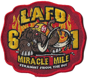 LAFD Station 61 Miracle Mile Fire Patch