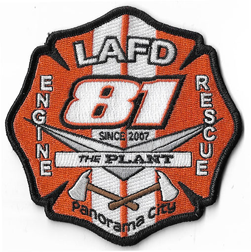 "LAFD Station 81 ""The Plant"" Patch"
