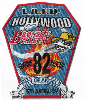 LAFD Station 82  Bronson's Bullets Fire Patch