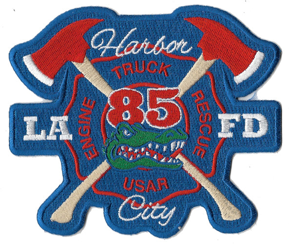 LAFD Station 85 Harbor City Fire Patch