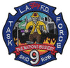 "LAFD Task Force 9 Patch  ""Nation's Busiest"" Patch"