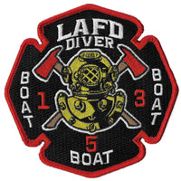 LAFD Diver Boat 1 Boat 3 Boat 5 Patch