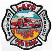 "LAFD Heavy Rescue ""The Hook""  Patch"