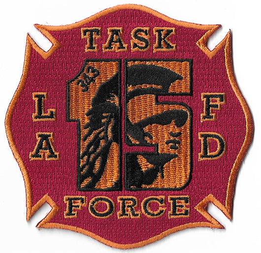 LAFD Task Force 15 Patch
