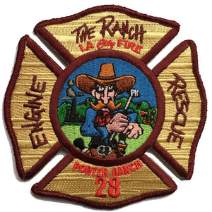 "LAFD Station 28  ""Porter Ranch"" Patch"