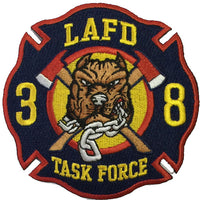 LAFD  38 Task Force Patch