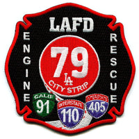 LAFD ENGINE RESCUE 79 FIRE PATCH