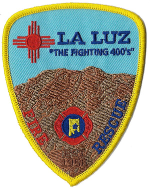 La Luz, New Mexico Fighting 400's Fire Rescue Patch