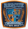 Milwaukee Rescue 1 New Design Patch