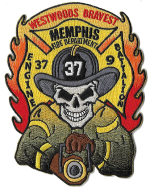 Memphis Engine 37 Skull Fire Patch