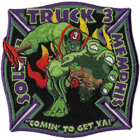 "Memphis Truck 3  ""Comin to Get You"" Patch"