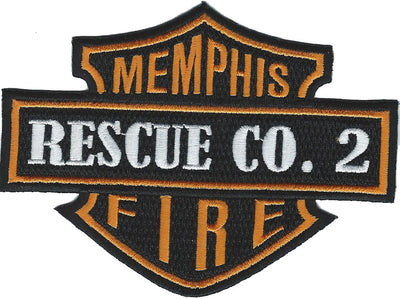 Memphis Rescue Co. 2 Patch