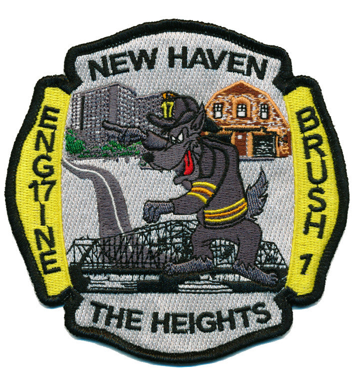 NEW HAVEN, CT ENGINE 17 THE HEIGHTS FIRE PATCH