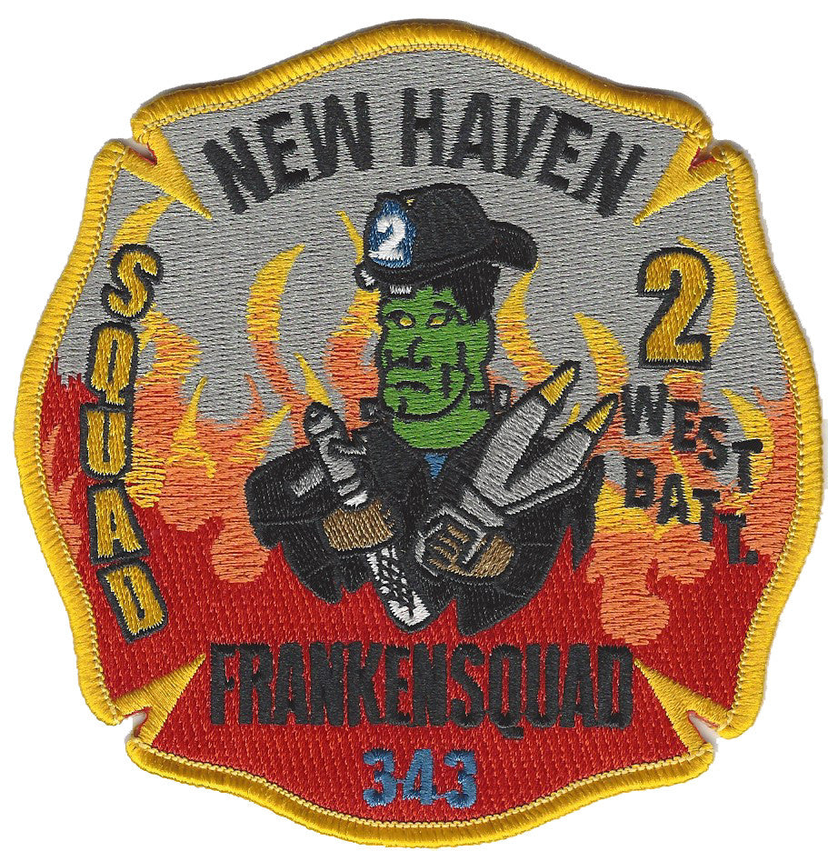 New Haven, CT Squad 2 Patch