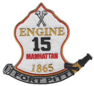 New York City  Engine 15 Fort Pitt Patch