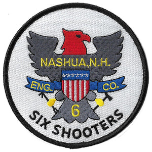 Nashua, NH Engine 6 Six Shooters Fire Patch