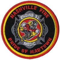 Nashville Station 31 Pride of Madtown Fire Patch
