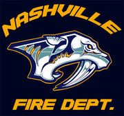 Nashville Fire Department Tee - Small & Medium Only
