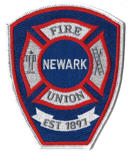 Newark Fire Union Patch