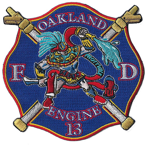 Oakland, CA Engine 13 Fruitvale Fire Patch